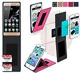 reboon Hülle für Gionee Marathon M5 Lite Tasche Cover Case Bumper | Pink | Testsieger