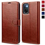 OCASE Galaxy S20 Plus Wallet Case, Galaxy S20+ Plus PU Leather Flip Case with RFID Blocking Card Holder Kickstand Magnetic Closure, Shockproof Phone Cover for Samsung Galaxy S20 Plus 6.7 Inch (Brown)