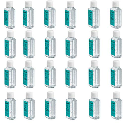 Hand Sanitizer 24 Pack Dearskin Alcohol 75% Based Gel...
