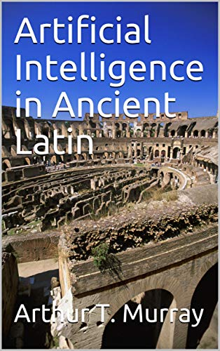 Paperback book on AI in ancient Latin