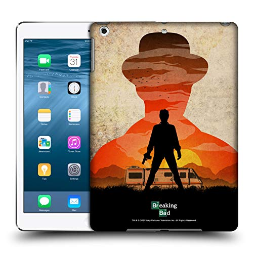 Head Case Designs Ufficiale Breaking Bad Heisenberg Silhouette Iconico Cover Dura per Parte Posteriore Compatibile con Apple iPad Air (2013)