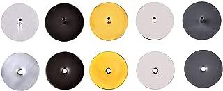 Hole Cover | Door Lockset Repair | Removed Door Knob Cover | Lock Repair Hardware | Brushed Chrome | TUFF Strike