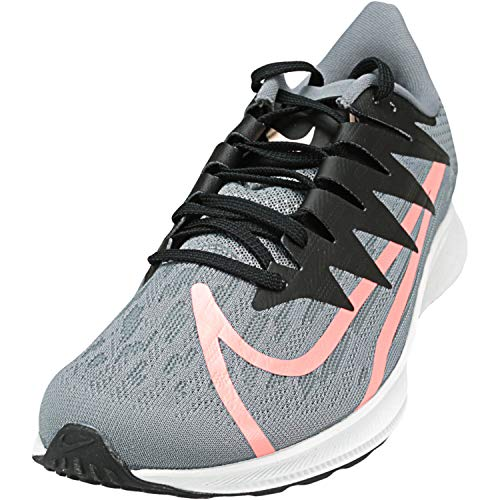 Nike Women's Zoom Rival Fly Running Shoe (8.5, Cool Grey/Lava Glow/Black/Crimson Tint)
