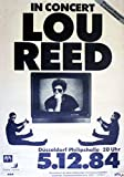 CLASSIC POSTERS Lou Reed Foto-Nachdruck eines