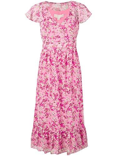 Michael Kors Luxury Fashion Damen MS98YT0AXE654 Fuchsia Kleid   Jahreszeit Outlet