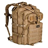24BattlePack Tactical Backpack 1 - 3 Day Assault Pack | 40L Bug Out Bag (Tan)