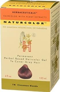 Naturcolor 7M Cinnamon Blonde Hair Dyes, 4 Ounce