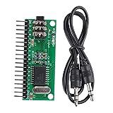Decodificatore Audio Modulo Decoder DTMF a 16 Canali MT8870 Telefono Decoder Audio Controller di Decodifica Vocale 8 Tipi di Funzione di Uscita Selezionabile Per Casa intelligente