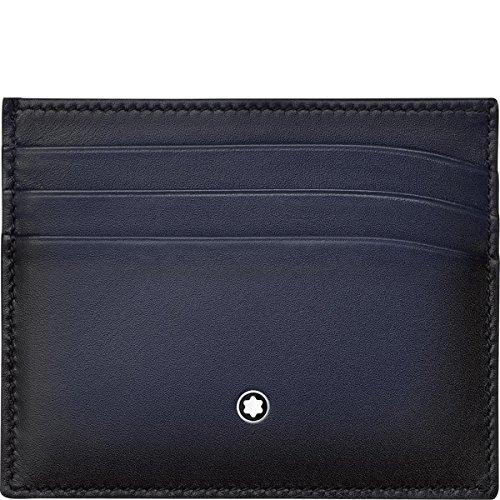 Montblanc Porta carte di credito, Marineblau (blu) - 113174
