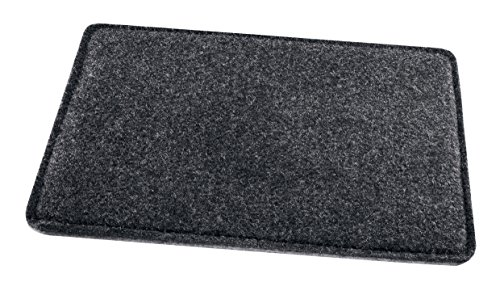 SIGEL SA300 Filz-Mauspad anthrazit/grau, 25 x 20 cm
