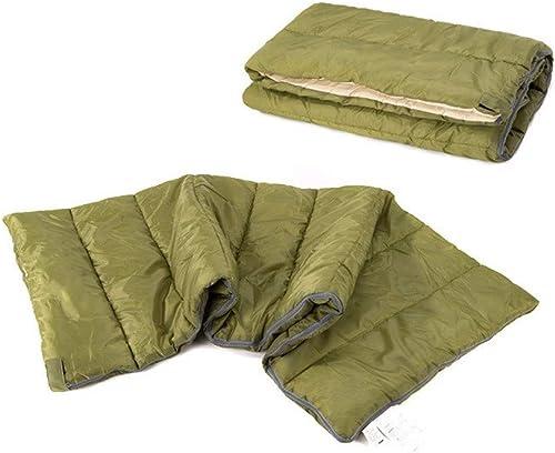 KKSLSVF Sac de Couchage Sac de Couchage d'été Enveloppe Sac de Couchage Coton Sac de Couchage 0.8kg