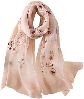 JL マフラー レディース 絹のスカーフ 大判 薄手 ストール シルク ショール