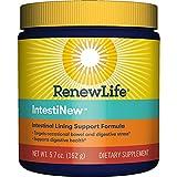 Renew Life Adult Digestive Aid - IntestiNew - Intestinal Lining Support Formula - Gluten, Dairy & Soy Free - 5.7 Oz. Powder
