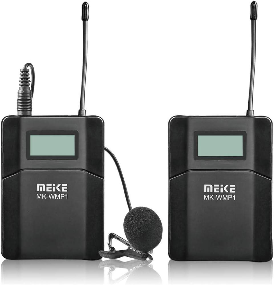 Meike MK-WMP1 UHF Wireless Attention brand Microphone Brand new Omni-Directional Lavalier