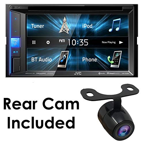 "KW-V25BT 6.2"" Car DVD/CD Multimedia WVGA Receiver Bluetooth Monitor Sirius XM/iPhone/Android with HD Rear View Camera"