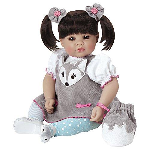 SILVER FOX Adora Dolls – Muñeca exclusiva 51 cm - Acabados a mano - Muñeca de alta calidad y acabados.