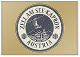 Zell Am See-kaprun In Austria, Skigebiet - klassischer Kühlschrankmagnet