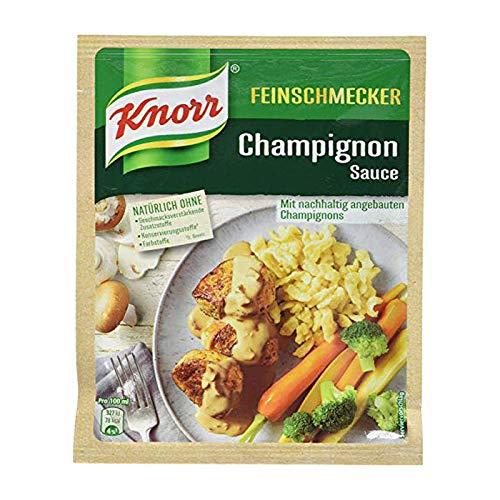 Knorr Feinschmecker Champignon Sauce, 1er-Pack (1 x 250 ml)