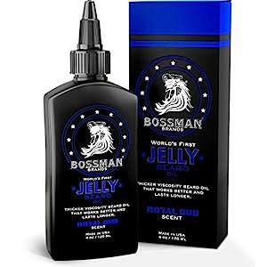 Bossman Beard Oil Jelly (4oz) - Beard Growth Softener, Moisturizer Lotion Gel with Natural Ingredients - Beard Growing… 2