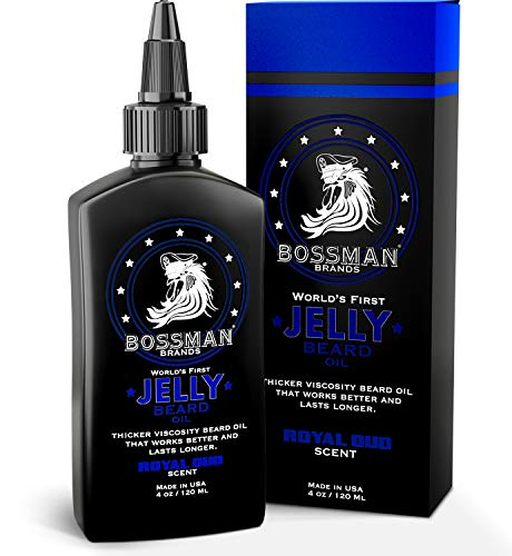 Bossman Beard Oil Jelly (4oz) - Beard Growth Softener, Moisturizer Lotion Gel with Natural Ingredients - Beard Growing… 1