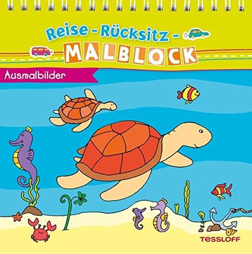 Reise-Rücksitz-Malblock Ausmalbilder (Malbücher und -blöcke)