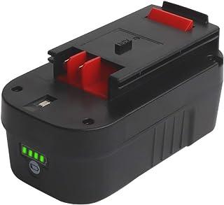 Huibatt - Batería de repuesto para Black&Decker A1718 A18NH HPB18 HPB18-OPE (18 V, 5,0 Ah)