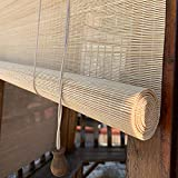 HMM Bamboo Roll Up Window Blind Sun Shade 24 X 72 in Bamboo Shade Retro Bamboo Blinds Lowes with Mounting Accessories Custom Size