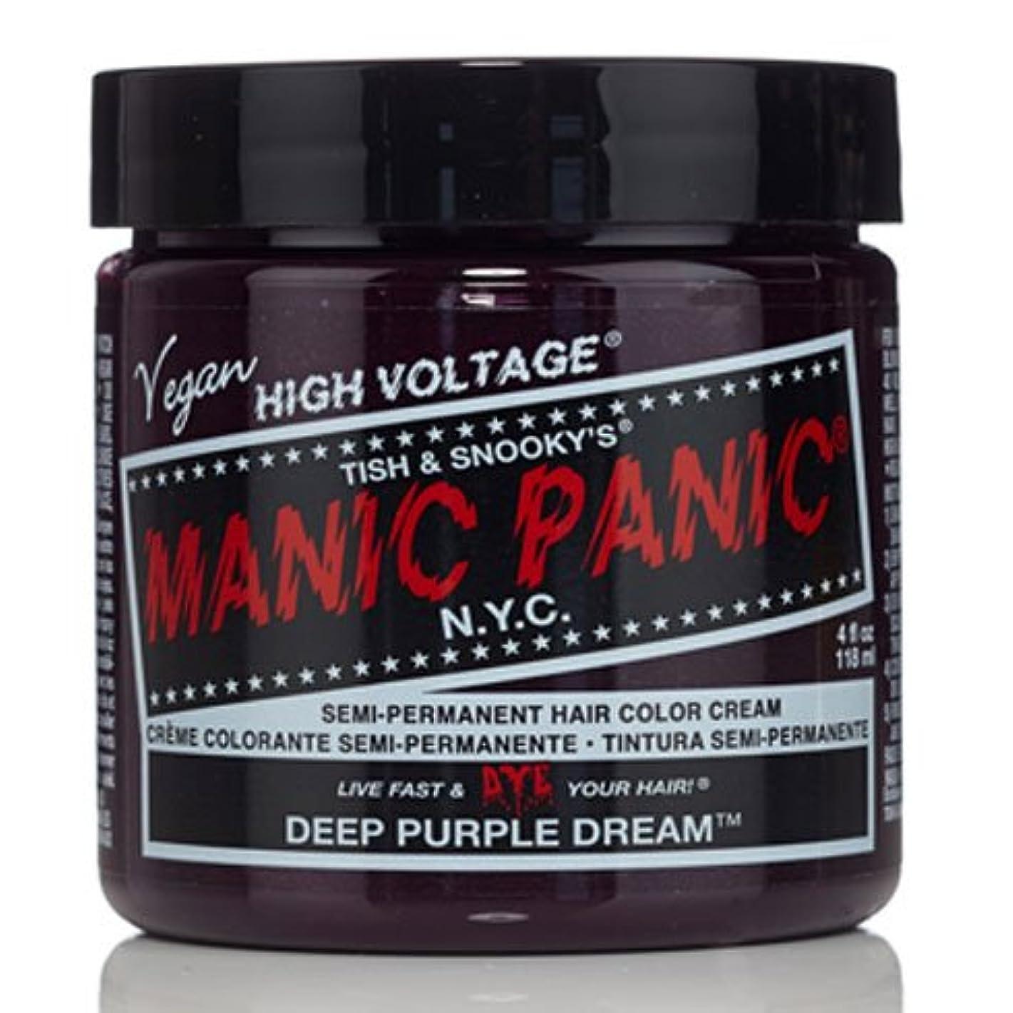 風景解決チャールズキージングスペシャルセットMANIC PANICマニックパニック:DEEP PURPLE DREAM (ディープパープルドリーム)+ヘアカラーケア4点セット