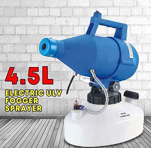 4.5L 1400W Elektrisch Sprühgerät Zerstäuber ULV Ultra Niedrige Kapazität Sprühen Maschine Nebelkühler Gelten Drinnen Und Draußen Blau