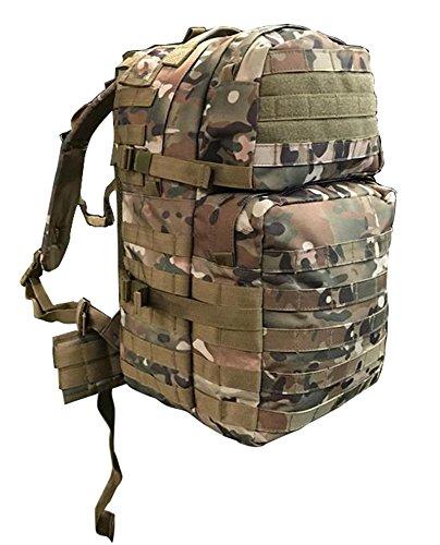 A&N 40 Litre MTP Molle Tatical Rucksack Airsoft Military Hiking Daysack Backpack Multicam