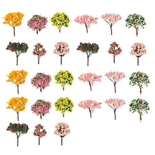 Milisten Modell Bäume Zug Bäume...