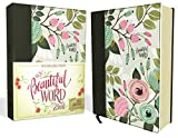 NKJV, Beautiful Word Bible, Cloth over Board, Multi-color Floral, Red Letter: 500 Full-Color