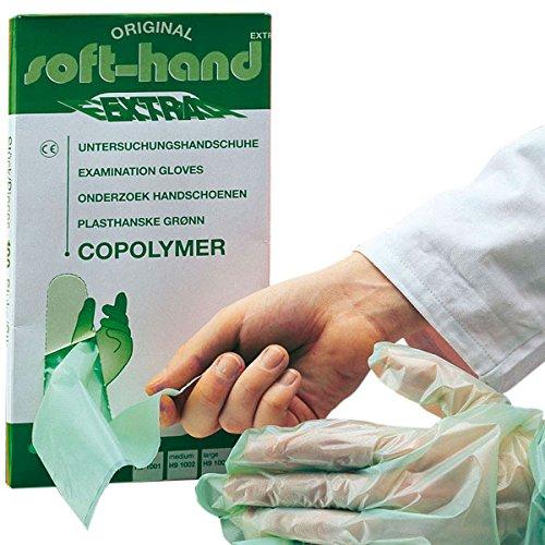Gants de main H9 1004 Copolymère Extra Doux, XL (Lot de 100)