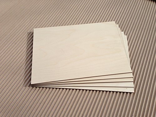 Daisymoon Designs Laserply Birch Plywood A4 Sheet 25 Pack