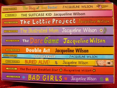 Bad Girls / The Bed and Breakfast Star / Buried Alive! / Cliffhanger / Double Act / The Dare Game / The Illustrated Mum / The Lottie Project / The Suitcase Kid / The Story of Tracy Beaker