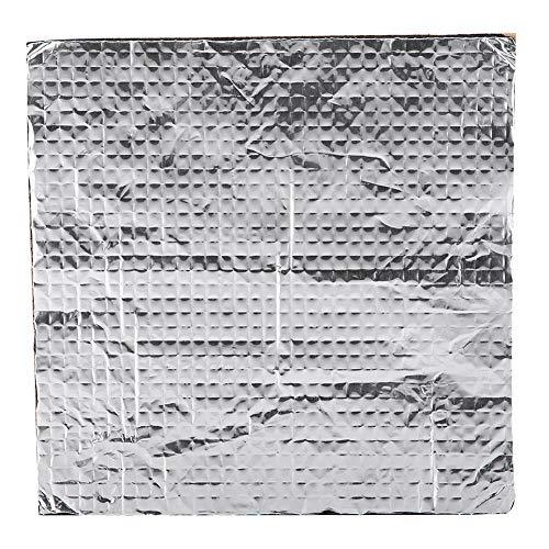 ASHATA 3D Drucker Heated Bed Isolierbaumwolle,3D Printer Heißes Bett Selbstklebende Wärmeisolierung,200x200 mm/300x300 mm wasserdichte Wärmedämmung Baumwolle Isoliermatte für 3D Drucker (300 * 300mm)