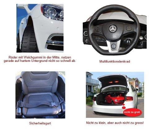 RC Auto kaufen Kinderauto Bild 6: Original Mercedes-Benz ML 4x4 4MATIC 350 SUV Lizenz Kinderauto Kinderfahrzeug (ROT)*