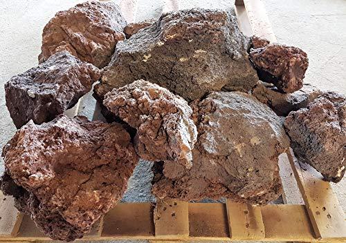 Der Naturstein Garten -   25 kg Lava Steine