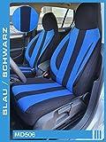 Maß Sitzbezüge kompatibel mit Mercedes C-Klasse W205/S205 Fahrer & Beifahrer ab FB:MD506