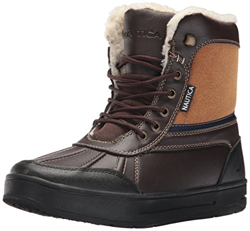powerful Nautica Lockview Men's Ankle Boots, Smooth Brown Wool, 12m, USA
