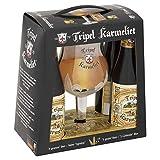 Brasserie Bosteels - Estuche Karmeliet Triple 4*33Cl + 1 Vaso