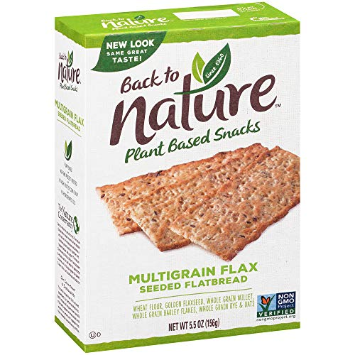 Back to Nature Crackers, Non-GMO Multigrain Flax Seed, Now $2.19