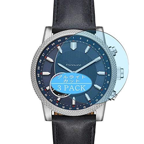 Vaxson - Pellicola protettiva anti luce blu, compatibile con smartwatch Michael Kors Access Scout SmartWatch, pellicola protettiva per blocco della luce blu [vetro temperato]