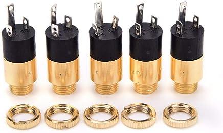"10PCS 1//8/"" 3.5mm Stereo Audio Headphones Socket With nut Panel Mount PJ-392  zi"