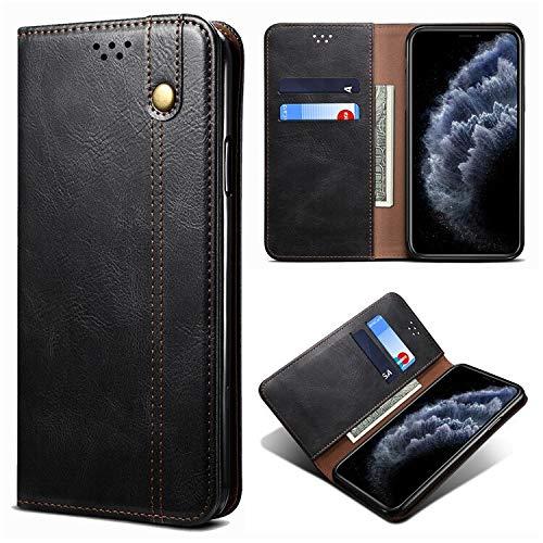 Xingyue Aile Covers y Fundas Para Samsung Galaxy S20 Fe PLUS S20 Ultra, Luxury Retro Business Clee Clee Funda de Caja Ranura Tapa de la bandeja de la billetera para Samsung Galaxy A11 A42 M11 M51 M31S