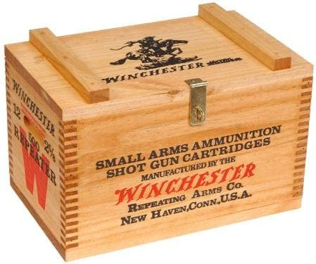 Winchester Rapid rise Ranking TOP10 Wooden Ammo Box ONLY - Stain