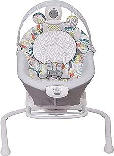 Graco Baby Duet Sway elektrische Babyschaukel ab Geburt bis 9 kg, anpassbare..