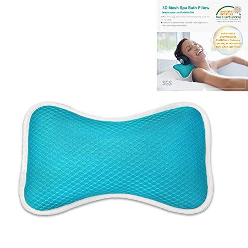 Almohada de Baño de Relajación para El Cuello