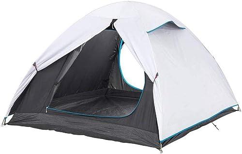AYLS Tente de Camping en Plein air Camping 2-3 Personnes Prougeection Solaire Contre la Pluie Prougeection UV Parc Tour Voyage Sauvage Tente Portable