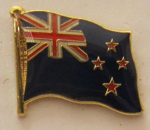 Neuseeland Pin Anstecker Flagge Fahne Nationalflagge Flaggenpin Badge Button Flaggen Clip Anstecknadel